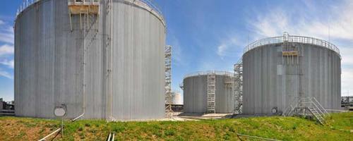 АСУ ТП перевалочной базы нефтепродуктов емкостью 20 000 тонн. Резервуарный парк