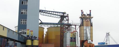 АСУ ТП портового зернового терминала емкостью 33 000 тонн. Портовый зерновой терминал