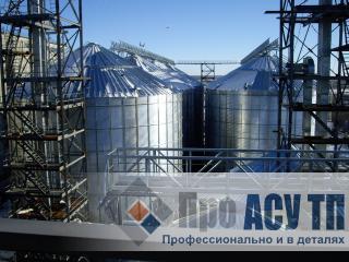 АСУ ТП элеватора семян подсолнечника емкостью 72 000 м3. Элеватор семян подсолнечника