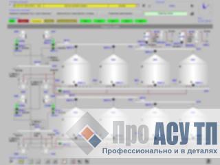 АСУ ТП элеватора семян подсолнечника емкостью 72 000 м3. АРМ оператора