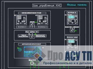 АСУ канализационной насосной станции. Щит управления