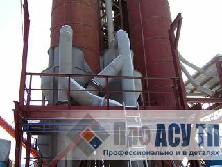 АСУ ПТ перегрузки цемента. Минизавод по производству бетона