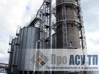 АСУ ТП элеватора емкостью 40 000 тонн. Элеватор