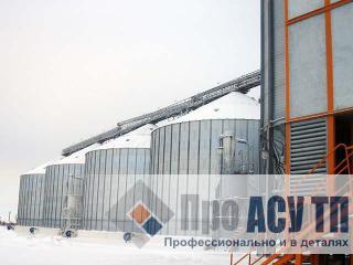 АСУ ТП элеватора емкостью 60 000 тонн. Элеватор