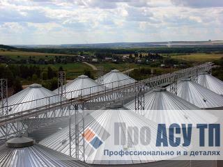 АСУ ТП элеватора емкостью 100 000 тонн. Элеватор
