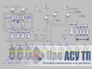АСУ ТП элеватора емкостью 100 000 тонн. АРМ оператора