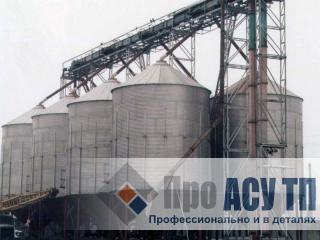 АСУ ТП комбикормового завода производительностью 210 тонн в сутки. Силосный склад