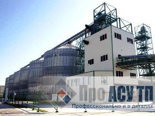 АСУ ТП терминального элеватора емкостью 126 000 тонн. Силосный терминал