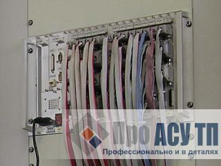 Модернизация АСУ ТП рабочего здания элеватора. Контроллер в шкафу управления