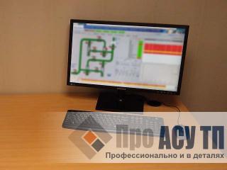 Модернизация АСУ ТП станций ультрафиолетового обеззараживания питьевой воды. АРМ оператора