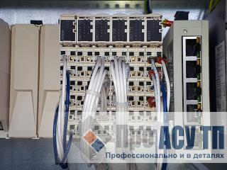Автоматизированная система диспетчеризации ливневой насосной станции. ПЛК шкафа диспетчеризации