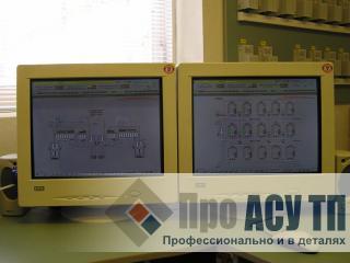 АСУ ТП портового зернового терминала емкостью 33 000 тонн. АРМ оператора