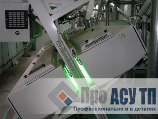 АСУ ТП рисового завода производительностью 520 тонн риса в сутки. Фотоэлектронный сепаратор
