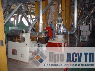 АСУ ТП рисового завода производительностью 520 тонн риса в сутки. Рабочее здание